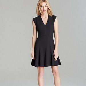 Rebecca Taylor Cap Sleeve Novelty Texture Dress 4
